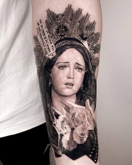 Tattoos - Weeping Madonna - 143127