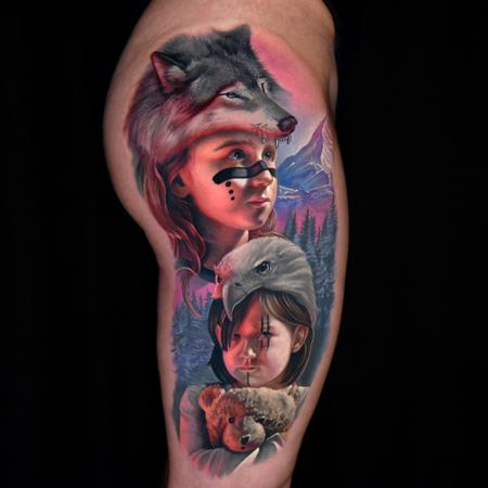 Tattoos - Little Huntress - 139466