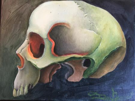 Donny Newman - Skull
