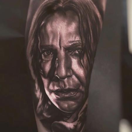 Tattoos - Portrait of Severus Snape - 119140