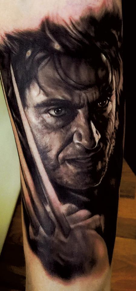 Tattoos - wolverine - 128118