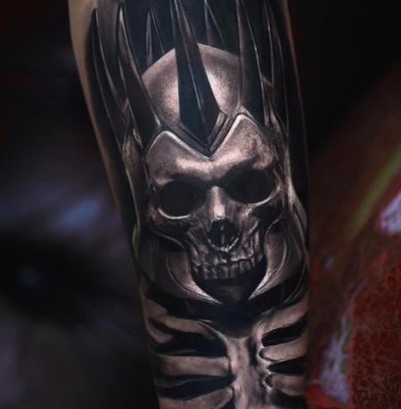 Tattoos - skull - 128116