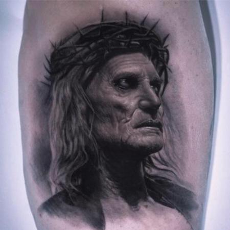 Tattoos - Zombie Jesus - 143008