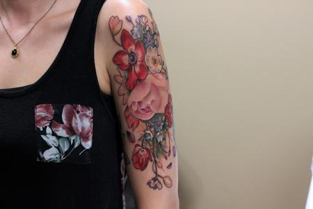 Tattoos - Vintage Bouquet - 106689