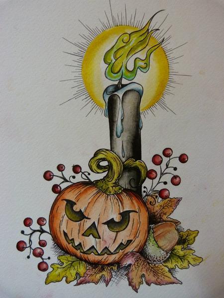 Anna Garvey - Halloween