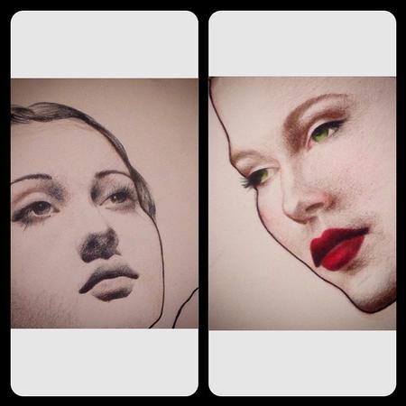 Annabelle Headlam - Retro Lady - Crop