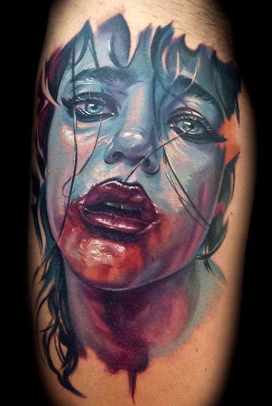 Antonio Proietti - vampire tattoo, antonio proietti tattoos