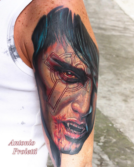Antonio Proietti - Color Vampire Tattoo