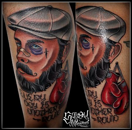 Tattoos - the Old Boxer - 109469