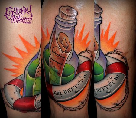 Tattoos - Message in the Bottle - 109464
