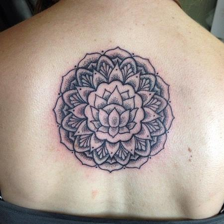 Tattoos - Lotus Mandala - 108357