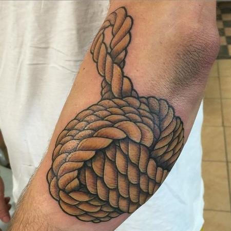 Tattoos - Monkey Fist Knot - 108358