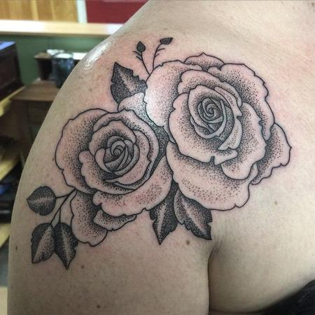 Benjamin Jenness - Rose tattoo