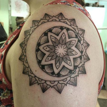 Tattoos - Sun and Moon Mandala - 108366