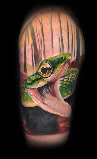 Tattoos - snake - 114570