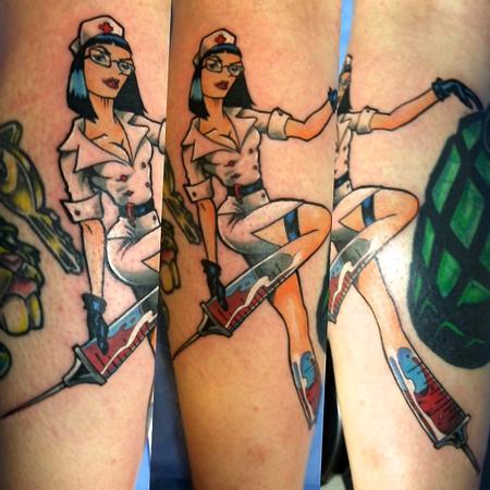 Tattoos - Helllloooo Nurse - 108773