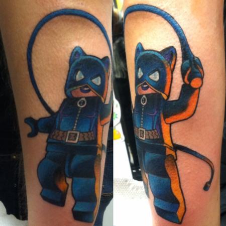 Tattoos - Lego Catwoman - 111593