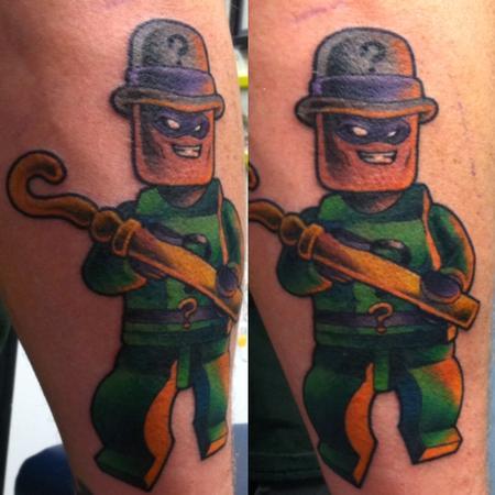 Tattoos - Lego Riddler - 111594