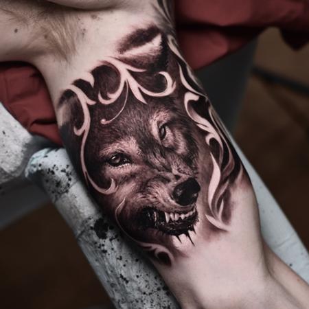 Tattoos - Wolf Tattoo - 138092