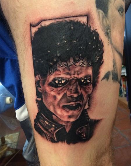 Tattoos - Michael Jackson portrait  - 116969