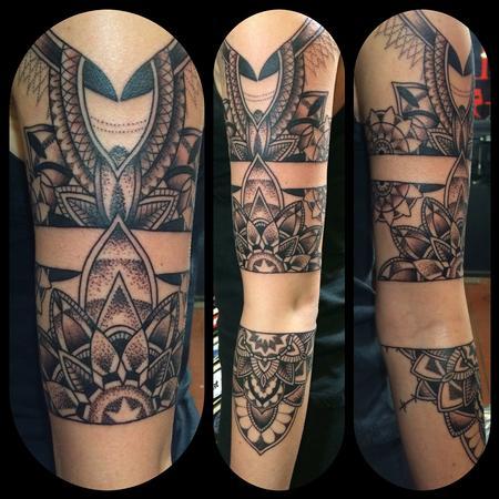 Tattoos - Mandala 3/4 sleeve - 116970