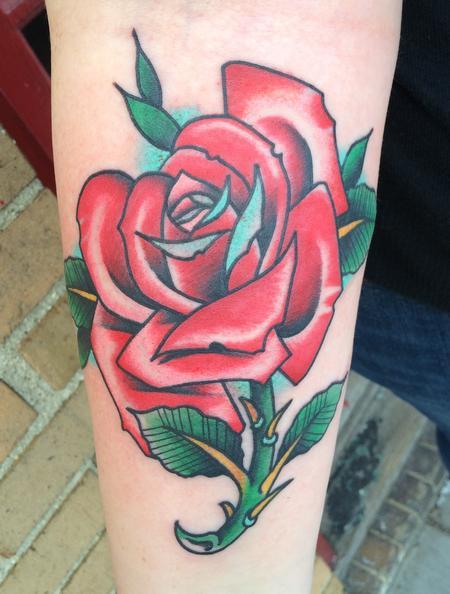 Tattoos - Rose  - 117125