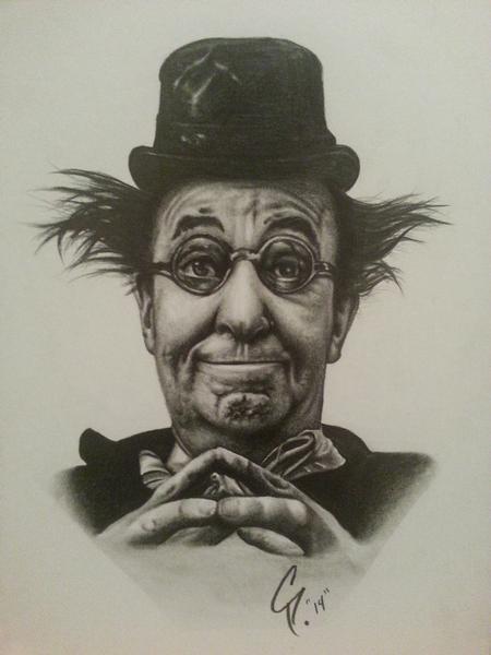 Chad Pelland - Clown Drawing