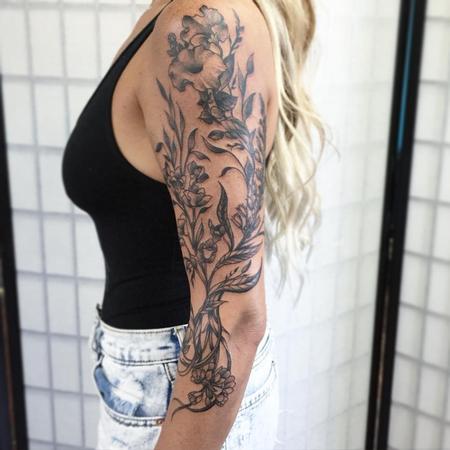 Tattoos - Flowers - 108007