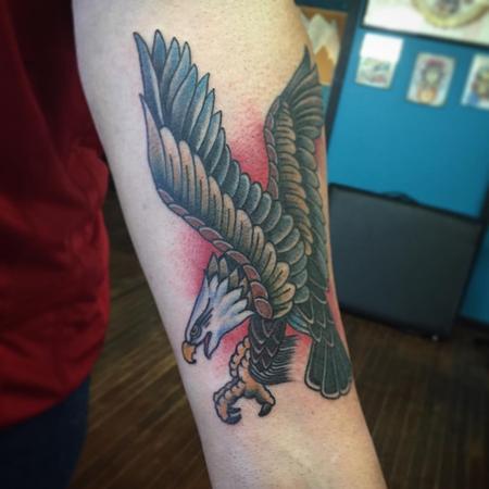 Tattoos - Eagle - 108008