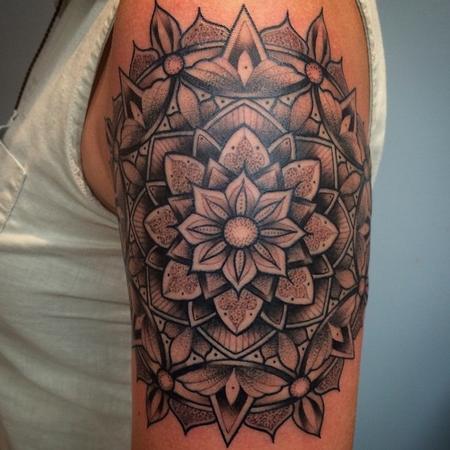 Tattoos - Mandala - 115417