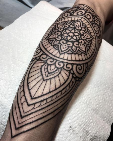 Tattoos - Ornamental Blackwork - 125453