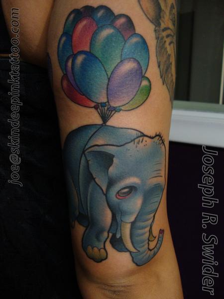 Tattoos - Elephant - 96385
