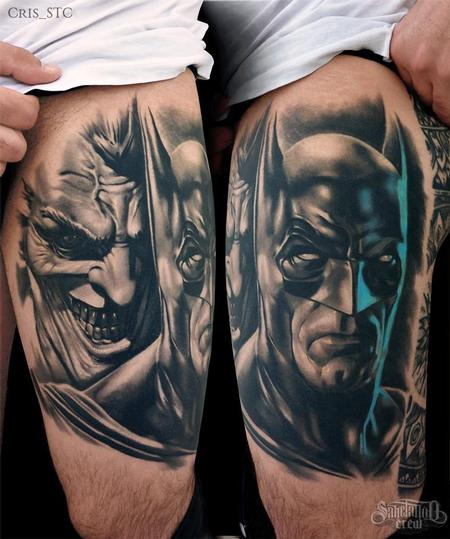 Tattoos - Batman & Joker - 102209