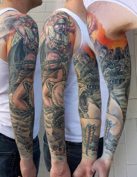 Tattoos - Warrior - 115635