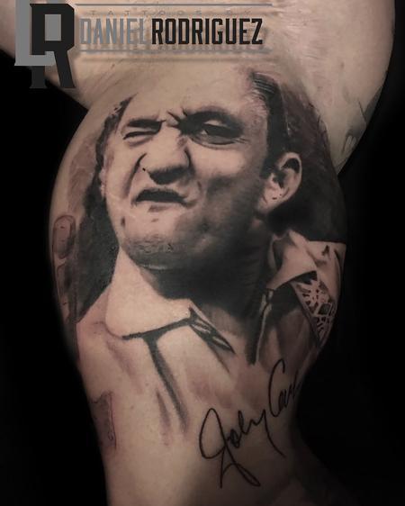 Daniel Rodriguez - Johnny Cash Portrait