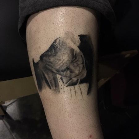Tattoos - Heath Ledgers Joker - 115425