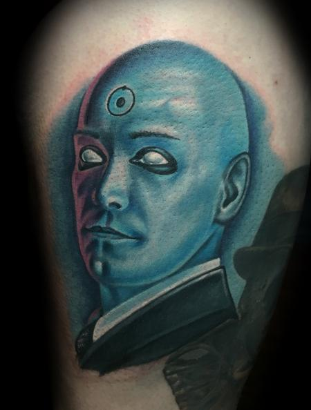 Tattoos - Dr. Manhattan  - 116490