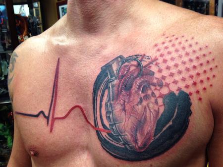 Tattoos - Heart Grenade Trash Polka - 108687