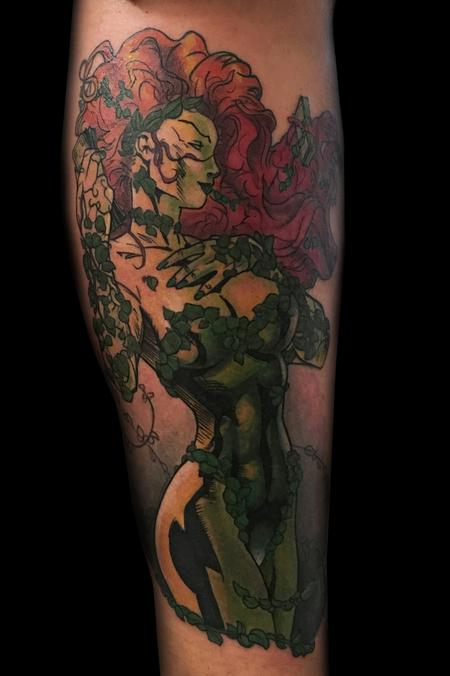 Danny Elliott - Poison Ivy Comic Tattoo