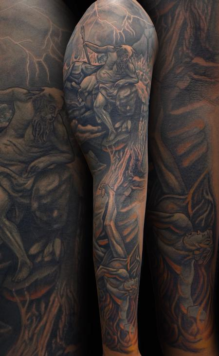 Tattoos - Poseidon - 111627