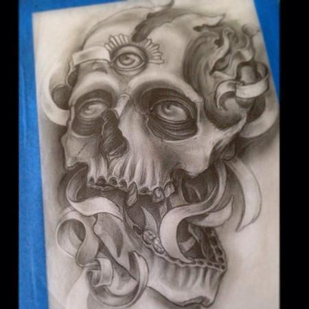 Edwin Marin - Skull