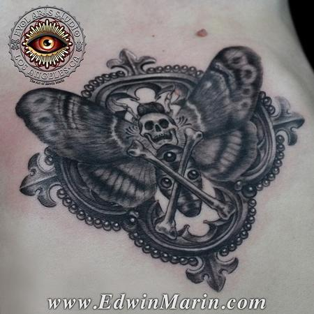 Tattoos - Death Head Moth - 104142
