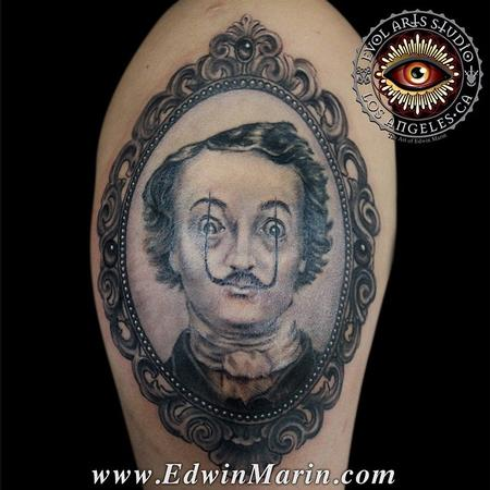 Tattoos - Edgar Allen Dali - 104145