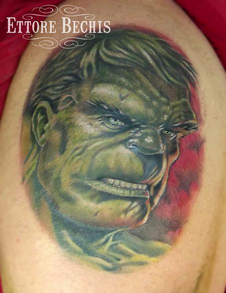 Tattoos - The Hulk - 114535
