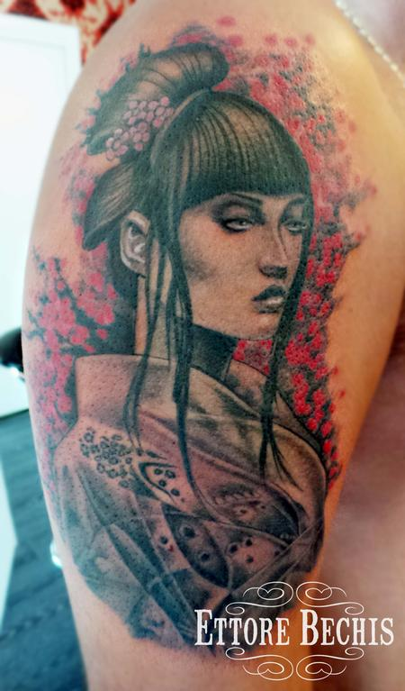 Tattoos - Geisha - 114773