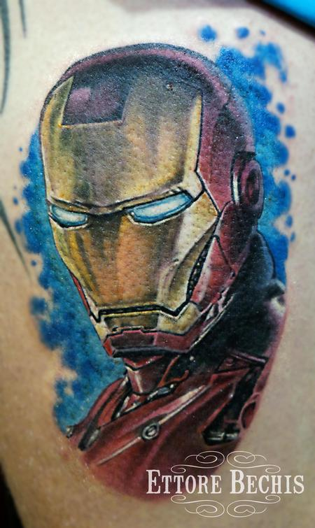 Tattoos - Iron Man - 115570