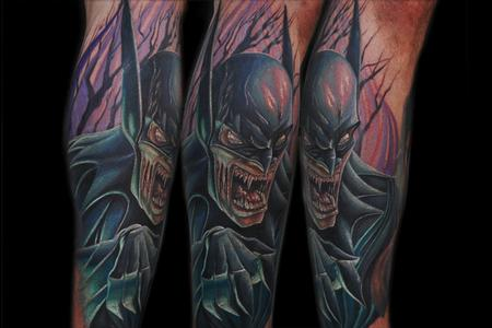 Tattoos - Vampire Batman - 64972