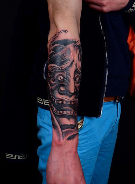 Tattoos - Hannya Mask - 101670