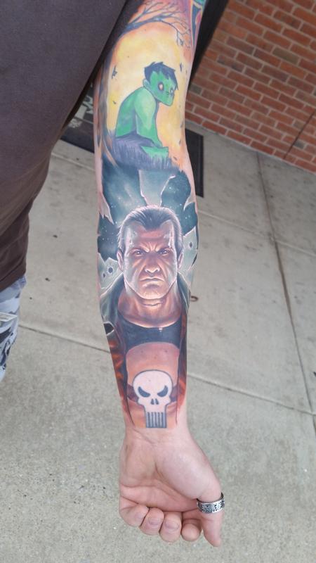 Tattoos - The Punisher - 111302