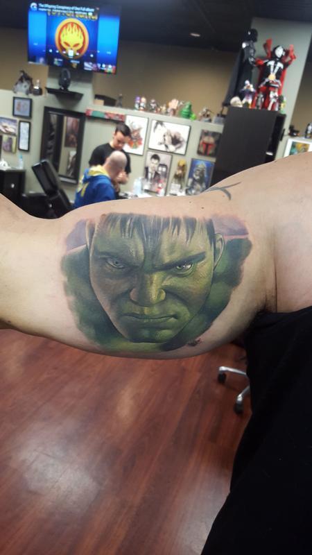 Tattoos - Hulk on Hulk - 111316